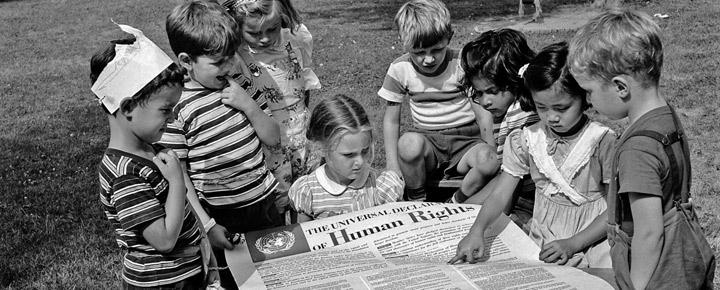 Declaration of Human rights kids