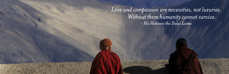 Dalai Lama LOVE-AND-COMPASSION