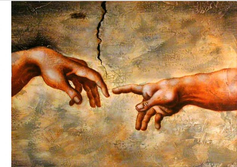 humanity-reaching-out-to-divinity